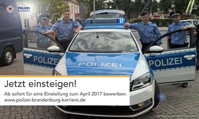 die polizei in brandenburg und berlin sucht wieder nachwuchs - Kriminalpolizei Bewerbung